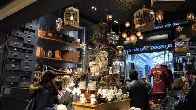 26 millions $ de chiffre d'affaires pour les boutiques Harry Potter à Londres