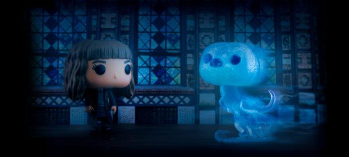 La Funko Pop Patronus d'Hermione en avant-première pour la boutique Wizarding World