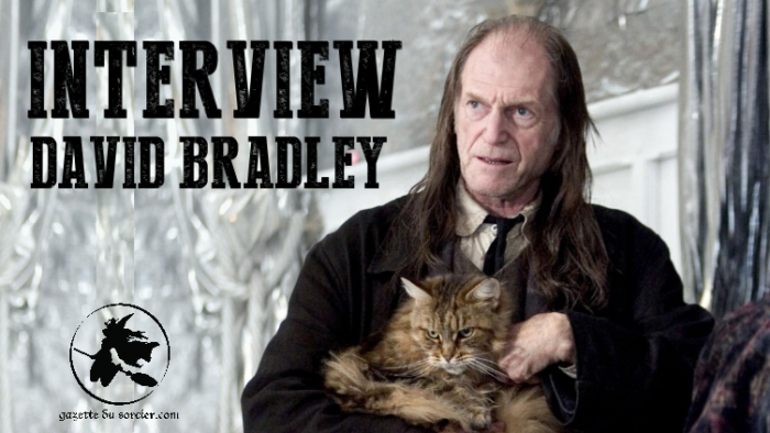Interview exclusive de David Bradley (Argus Rusard)