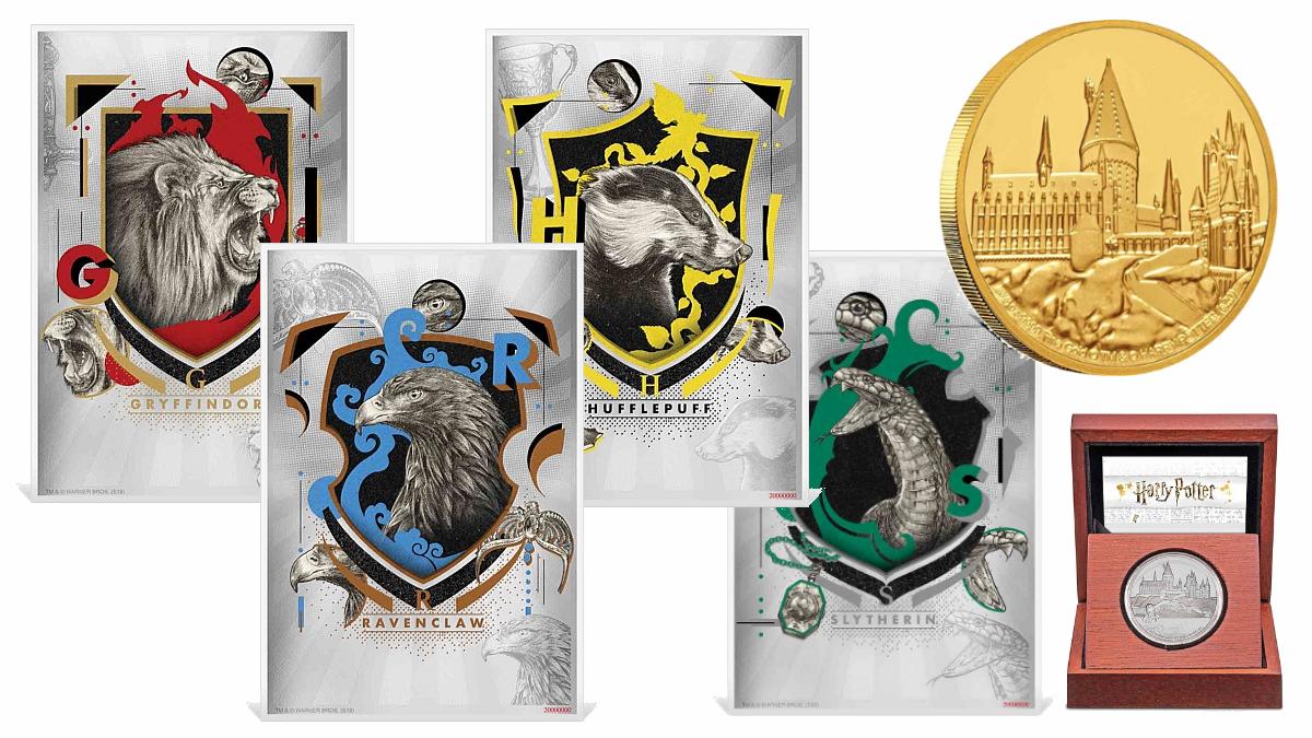 Des billets en argent Harry Potter disponibles en Nouvelle-Zélande
