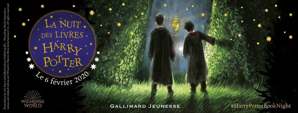 Nuit des Livres Harry Potter 2020 Gallimard Jeunesse