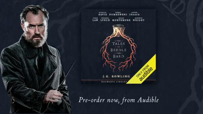 Les Contes de Beedle le barde en audiolivre, lus par des acteurs du Wizarding World !