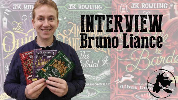 Exclusif : Interview de Bruno Liance, illustrateur des nouvelles couvertures de La Bibliothèque de Poudlard