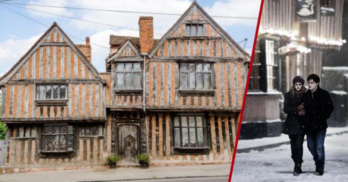 Enquête : la maison de Harry Potter, Godric's Hollow et la Maison De Vere