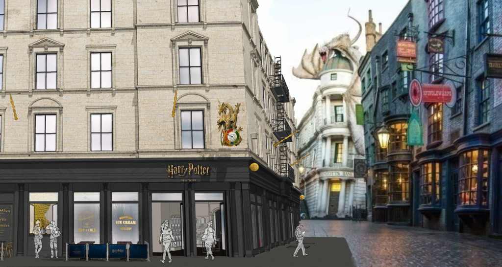 Flagship store Harry Potter New York