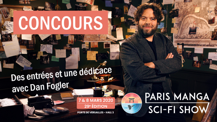 Dan Fogler à Paris Manga + CONCOURS