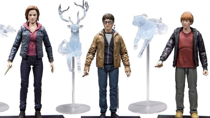 De nouvelles figurines articulées Harry Potter