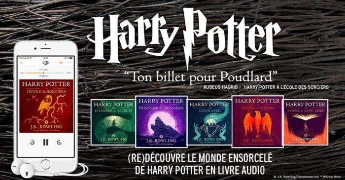 Les audiolivres Harry Potter : un succès mondial impressionnant