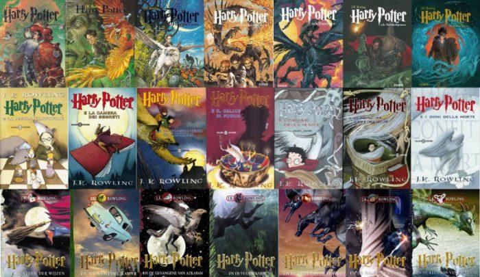 Les couvertures de Harry Potter par pays : fiche technique