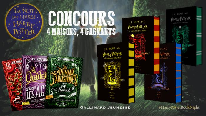 CONCOURS : édition 4 maisons 'Prisonnier d'Azkaban' & bibliothèque de Poudlard à gagner !