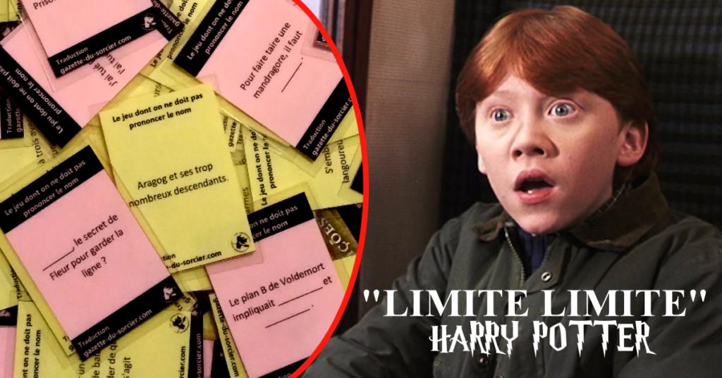 Limite Limite Harry Potter Gazette