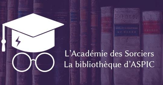 ASPIC ep. 10 : la bibliothèque d'ASPIC