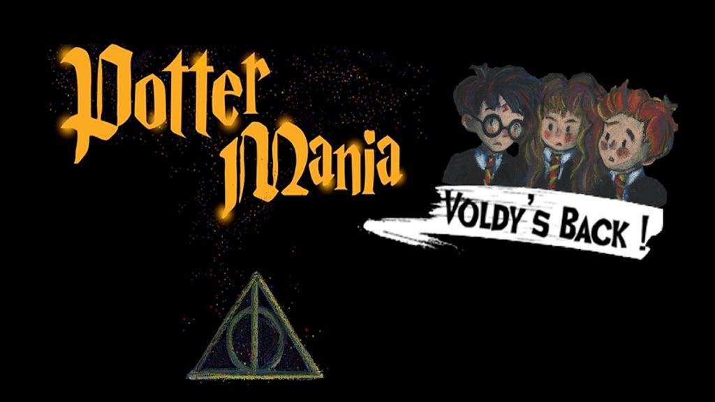 """Affiche du spectacle """"Potter Mania : Voldy's Back"""