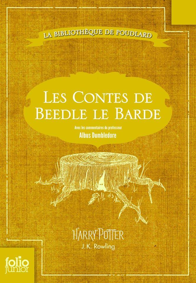 Les Contes de Beedle le Barde - Couverture France