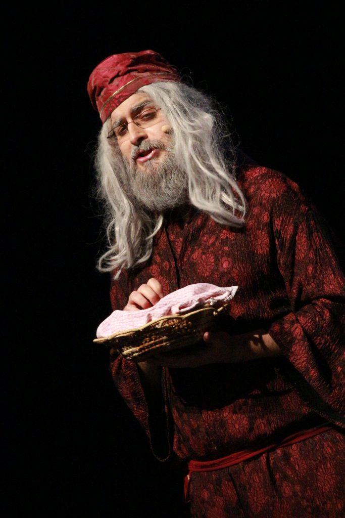 Dumbledore interprété par Jean-François Saintmont