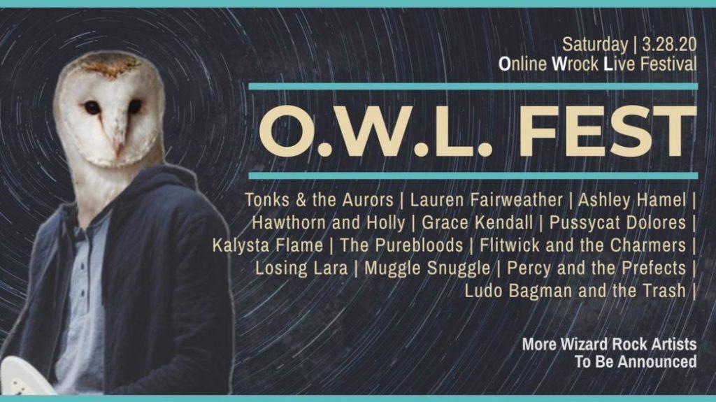 owl fest wizard rock live