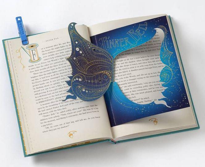 Extrait d'une page du livre Peter Pan illustré par MinaLima