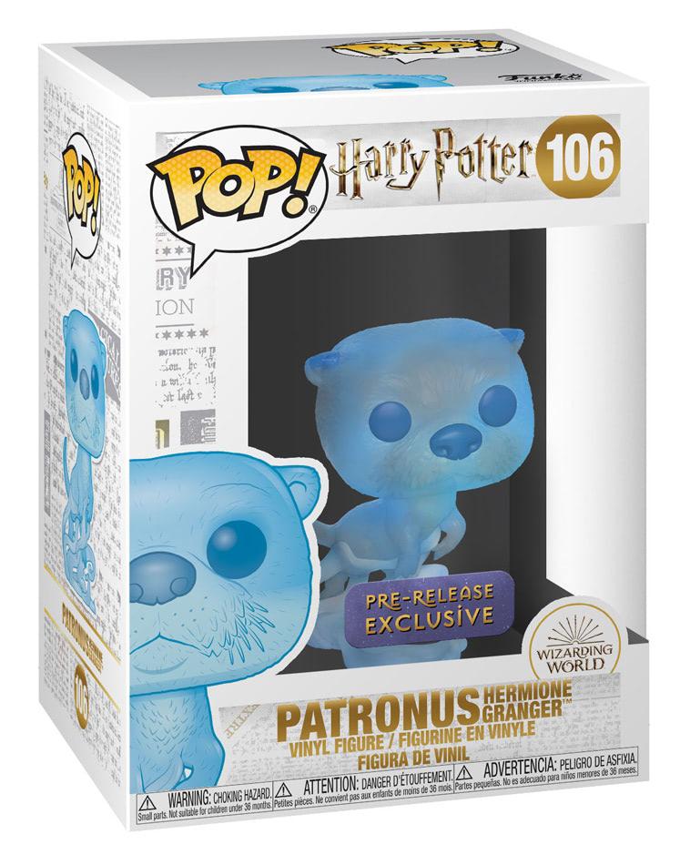 Funko Pop 106 Patronus Hermione Loutre