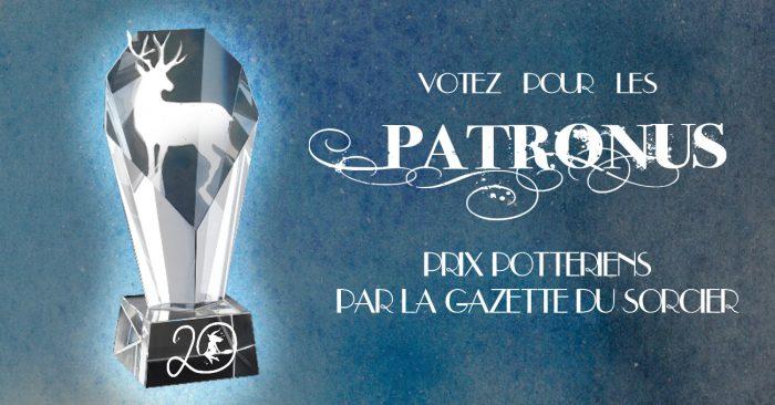Votez pour les Patronus, les récompenses Harry Potter !