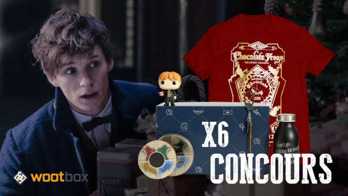 CONCOURS : Gagnez 6 wootbox Harry Potter !
