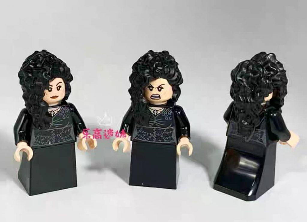 LEGO 2020 Bellatrix Lestrange en robe noire