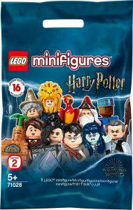 Pochette de la série de personnages à collectionner Harry Potter LEGO 2020