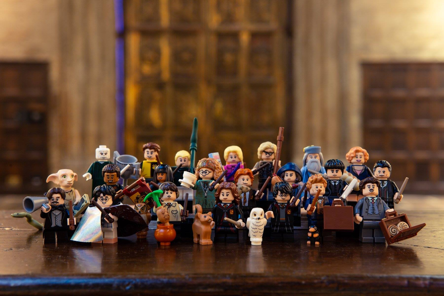Figurines LEGO Harry Potter à collectionner 2018