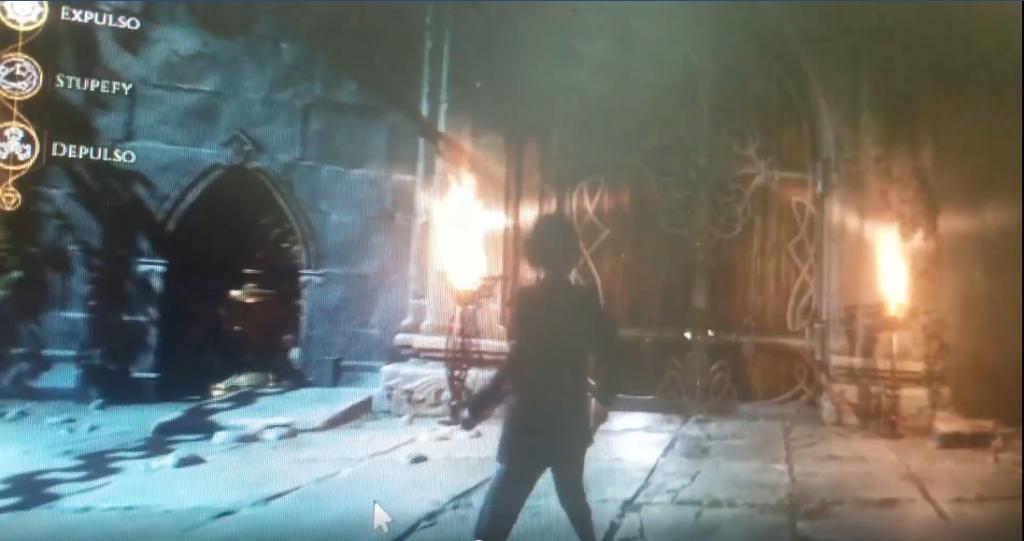 capture d'écran d'une vidéo présentant un potentiel futur RPG Harry Potter sur ordinateur et consoles