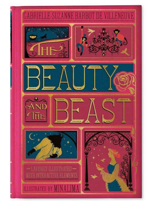 Couverture du livre La Belle et la Bête illustré par MinaLima