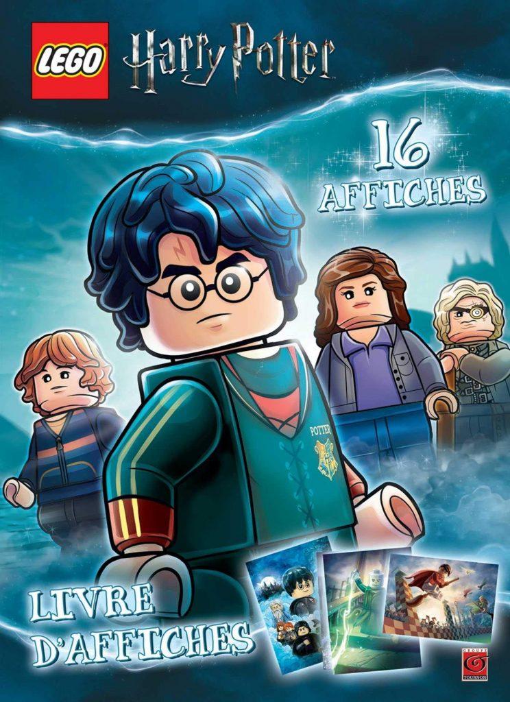 Livre d'affiches LEGO Harry Potter.