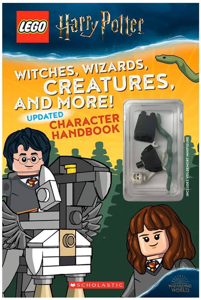 Livre LEGO Harry Potter Charcahter Handbook Updated