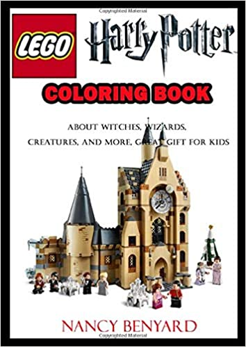 Livre de coloriage LEGO Harry Potter