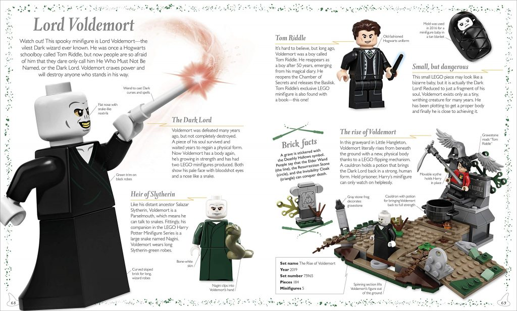 LEGO Harry Potter : Magical Treasury page sur Voldemort