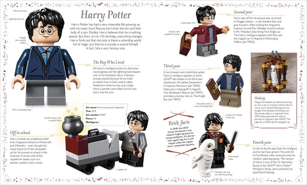 LEGO Harry Potter : Magical Treasury page sur Harry Potter