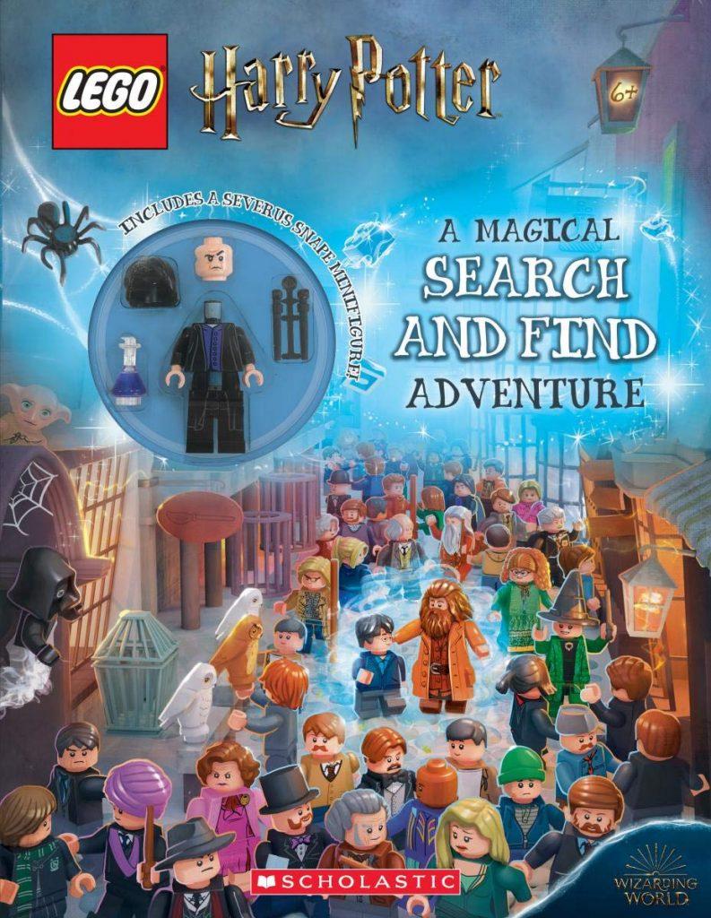Livre LEGO Harry Potter Où est Charlie ? Trouver les personnages.