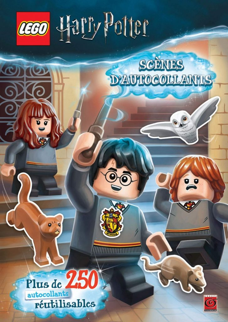 LEGO Harry Potter : livre d'autocollants