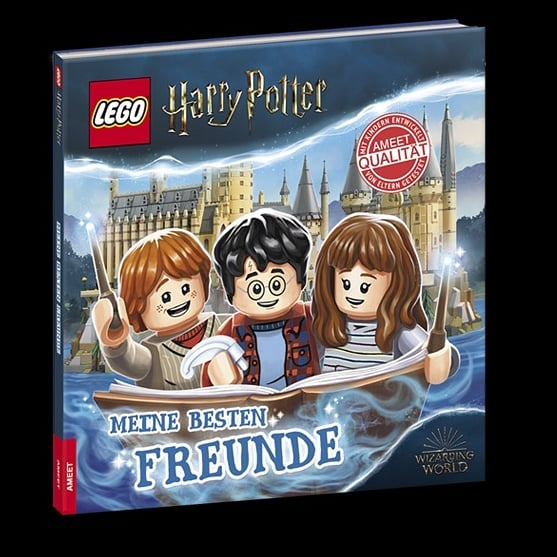 """Livre """"Mes meilleurs amis"""" LEGO Harry Potter"""