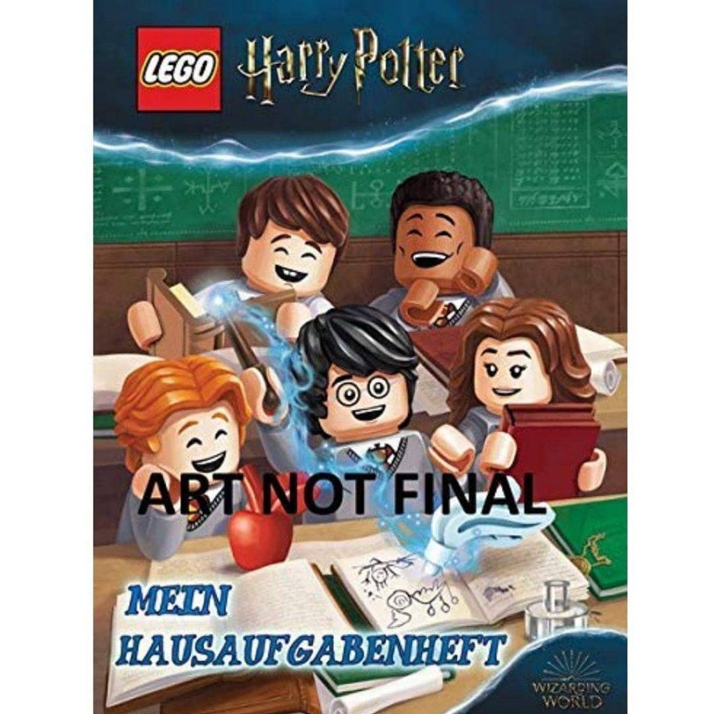 """Livre """"Mon carnet de devoirs"""" LEGO Harry Potter"""