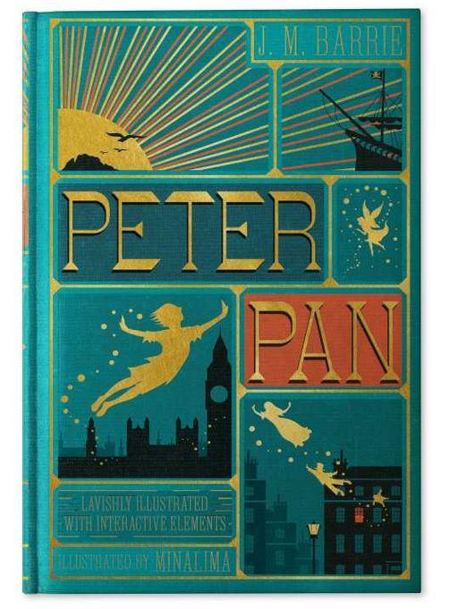 Couverture du livre Peter Pan illustré par MinaLima