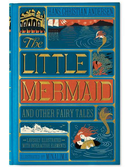 Couverture du livre La Petite Sirène illustré par MinaLima