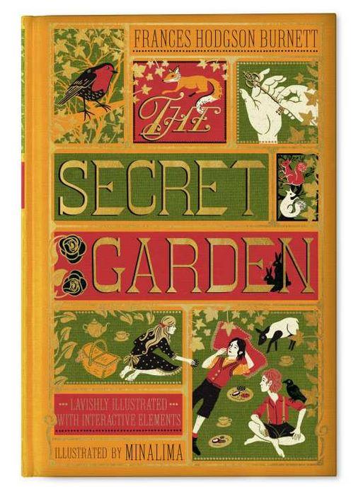 Couverture du livre Le Jardin Secret illustré par MinaLima