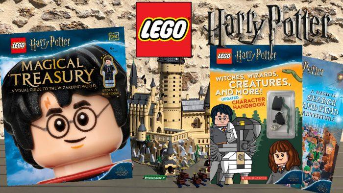 LEGO multiplie les livres Harry Potter