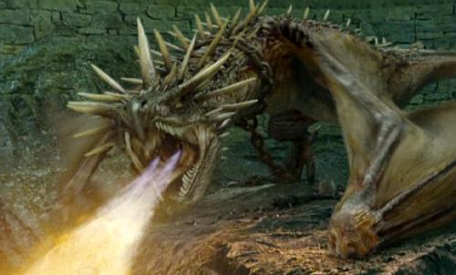 Magyar à pointes plus dangereux de tous les dragons. Il ressemble à un gros lézard.