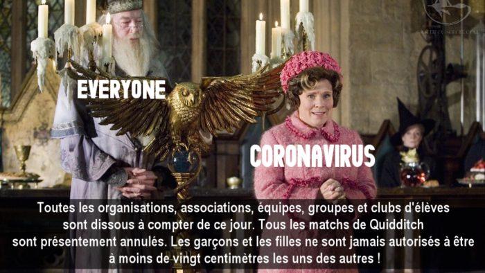 Le coronavirus s'attaque à l'univers de Harry Potter [MàJ]
