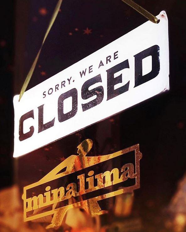 Panneau de fermeture de la House Of MinaLima