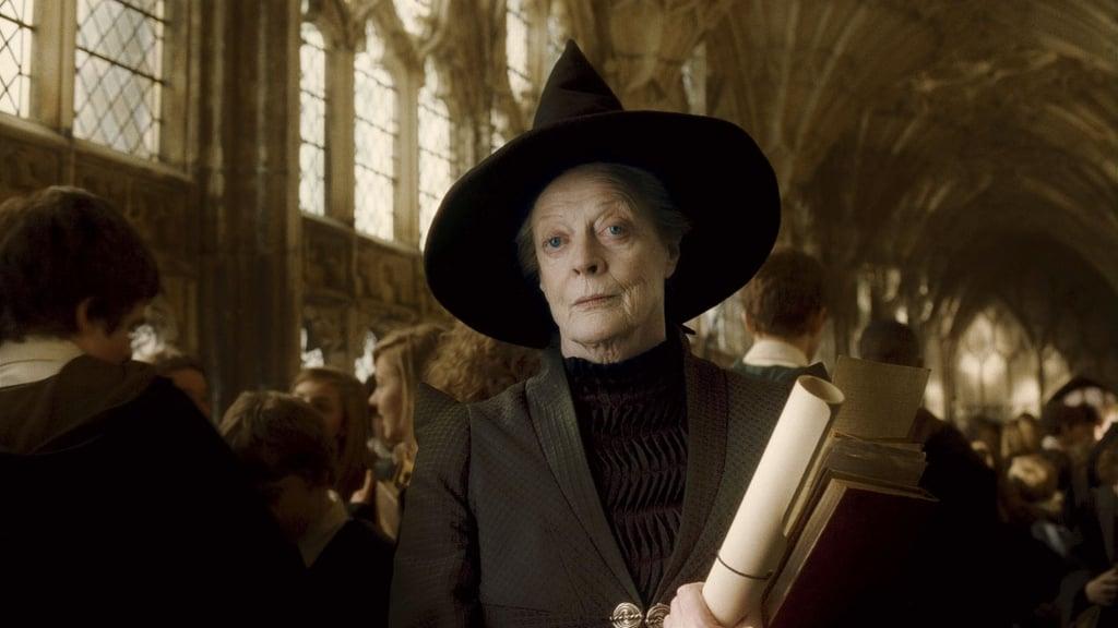 Minerva McGonagall professeur de métamorphose