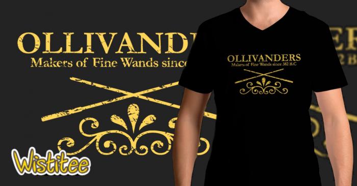 CONCOURS : Gagnez un tee-shirt Ollivanders avec Wistitee
