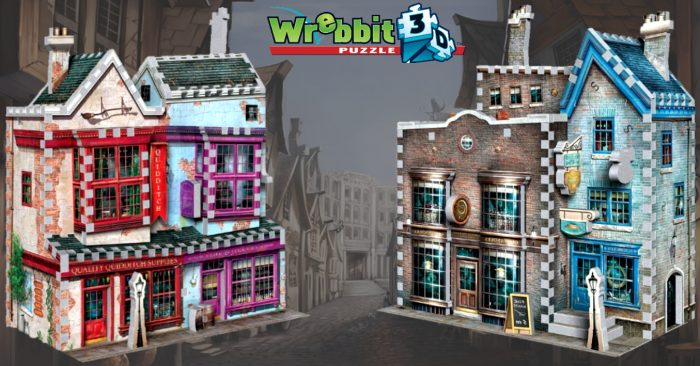 Nouveaux puzzles 3D Harry Potter par Wrebbit !