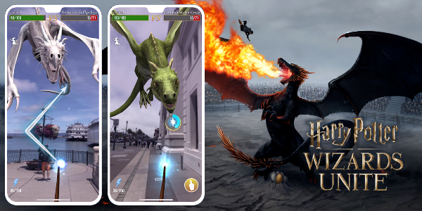 Bientôt des dragons dans Wizards Unite !