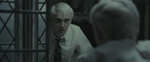 Harry Potter et le prince de sang-mêlé drago tom felton scène miroir